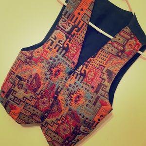 Tops - Pattern vest